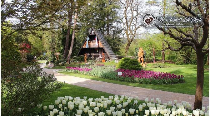 Mozirski gaj – park cvetja